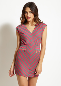 Ark & Co. Monika Striped Dress