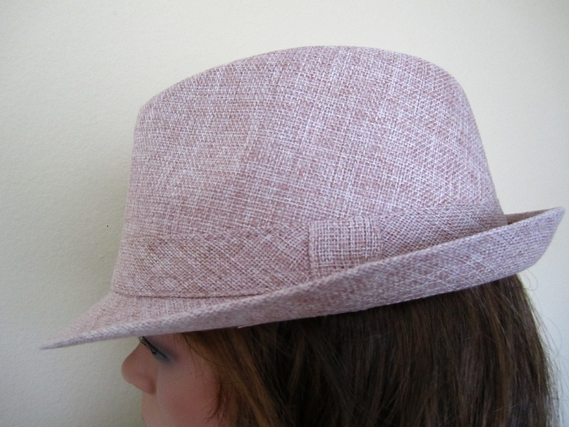 Dusty Rose Fedora