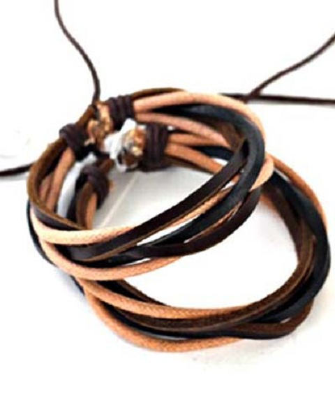 Teton Leather Bracelet - More Colors