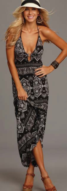 Lucy Love Hard Rock Maxi Dress - More Colors