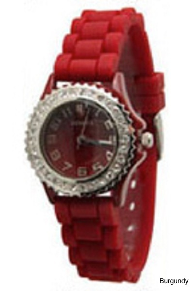 Geneva Brights Silicone Watch - More Colors
