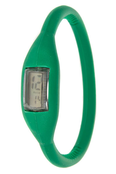 Sport Roam Green Rubber Unisex Watch