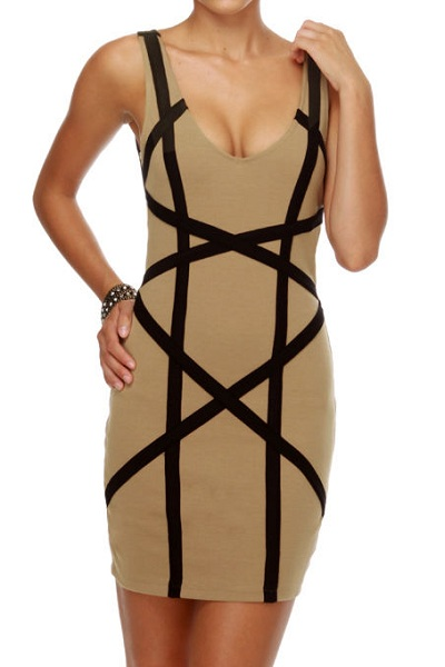 Sleek Bandage Dress - More Colors