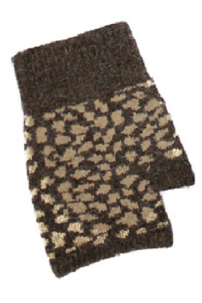 Animal Print Fingerless Gloves - More Colors