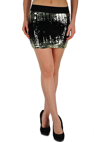 Kimberly Sequin Mini Skirt - More Colors