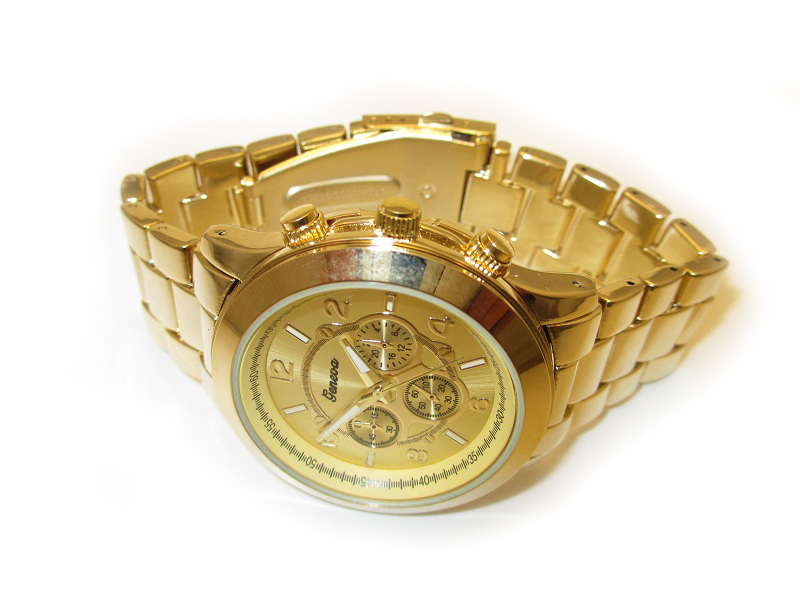 Golden Men Watch