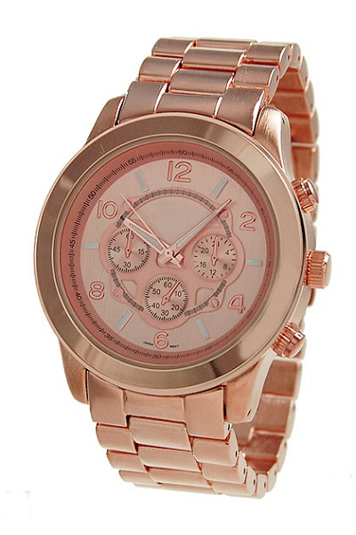 Geneva Rose Gold Men's Watch
