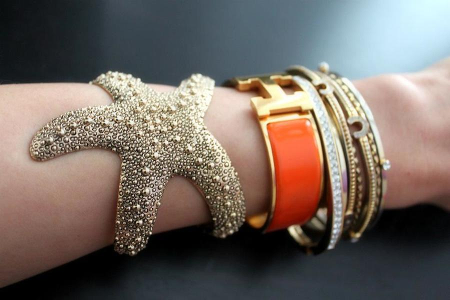 Starfish Cuff Bracelet - More Colors