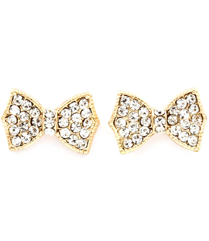 Bow Tie Post Earrings