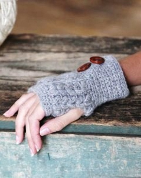 San Diego Hat Company Crochet Knit Fingerless Gloves