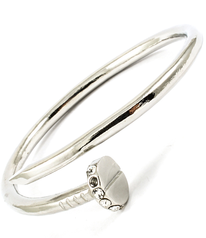 Bit of Bling Nail Bangle Bracelet
