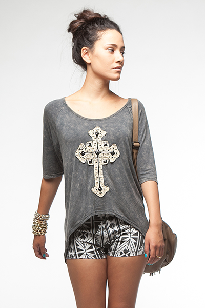 Royal Cross Tee
