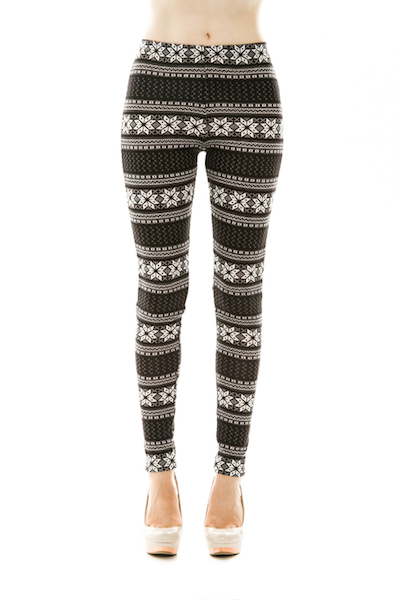 Tanja Snowflake Leggings