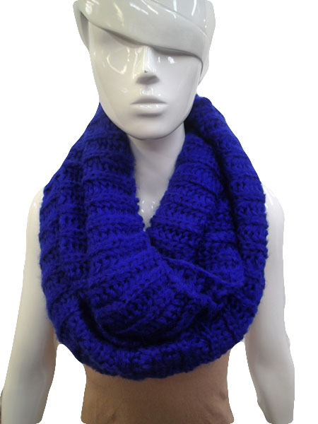 Ashley Chunky Knit Infinity Scarf - More Colors