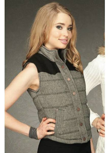 Vivi Quilted Vest - More Colors