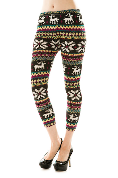 Blitzen Knit Leggings