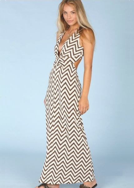 Lucy Love Peyton Maxi - Stairway to Heaven Venetian Knit