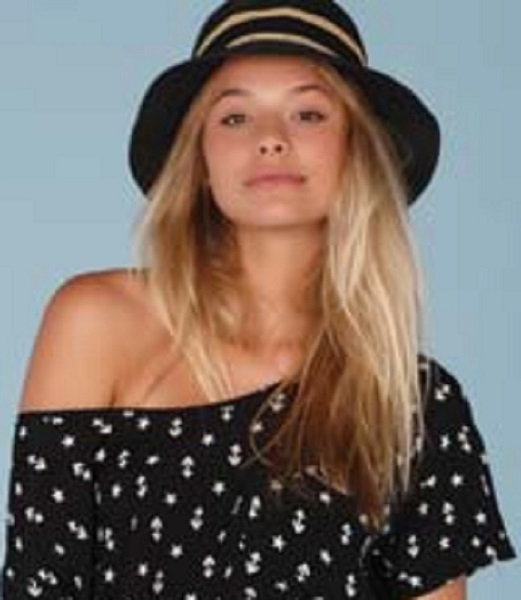 Lucy Love Gatsby Hat - Black