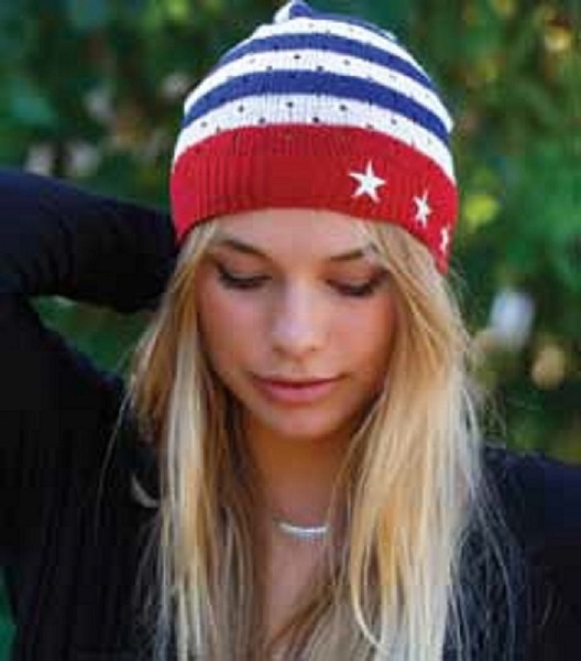 Lucy Love Liberty Beanie