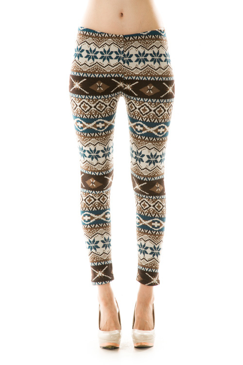 Elsa Printed Fleece Leggings