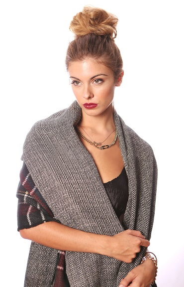 Natalya Reversible Scarf Shawl