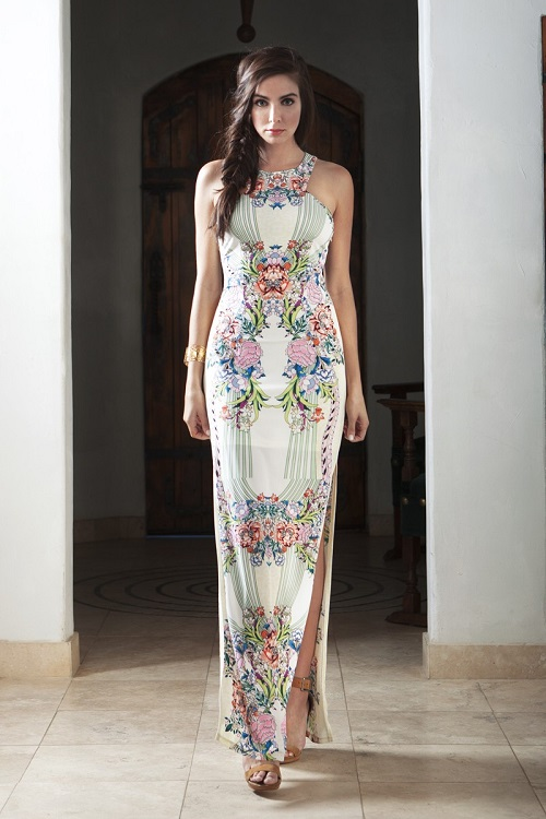 Zarah Tight Long Maxi Dress