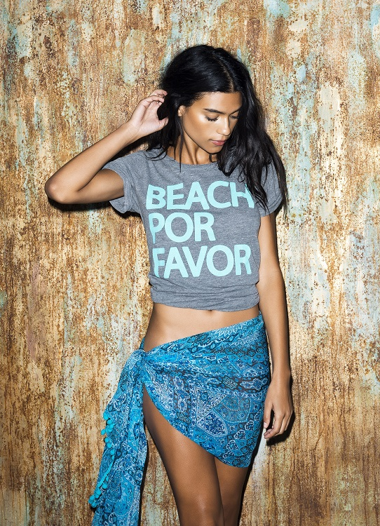 Beach Por Favor Graphic Tee