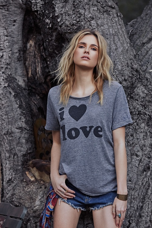 I Heart Love Relaxed Graphic Tee