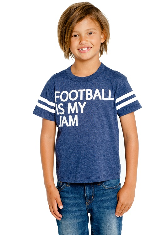 Football is My Jam Kids Graphic Tee