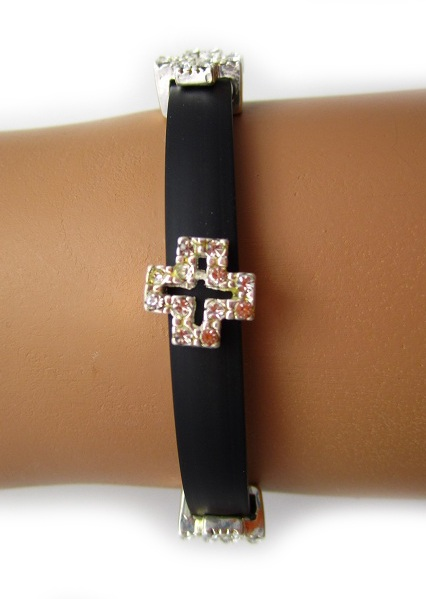 Cross Band Bracelet