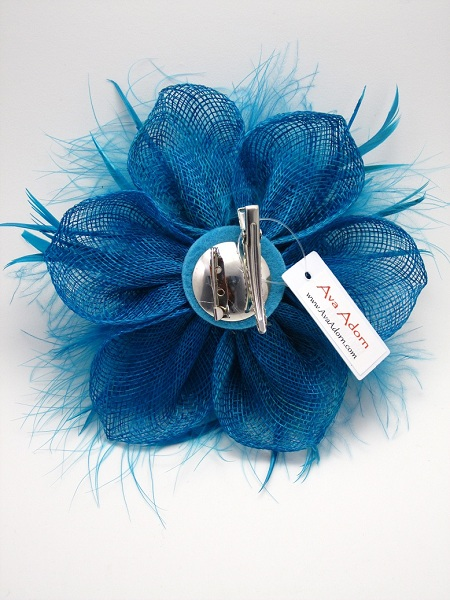 Flower and Tufts Fascinator - More Colors