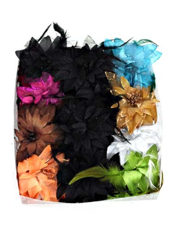 Anemone Flower Fascinator - More Colors