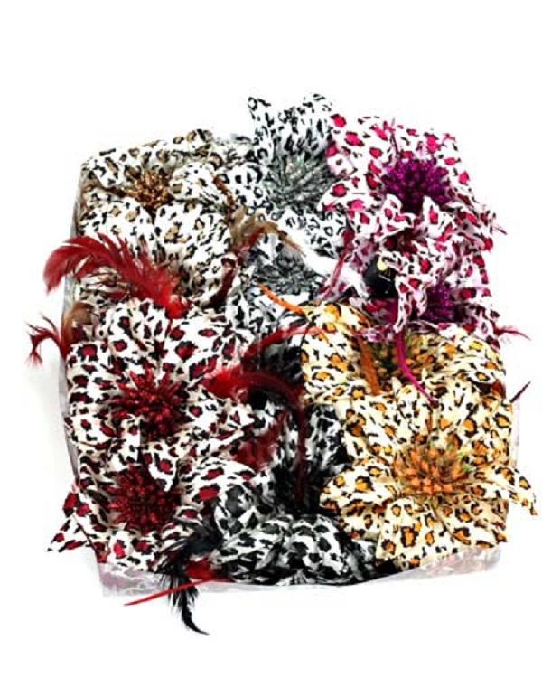 Exotic Flower Fascinator - More Colors