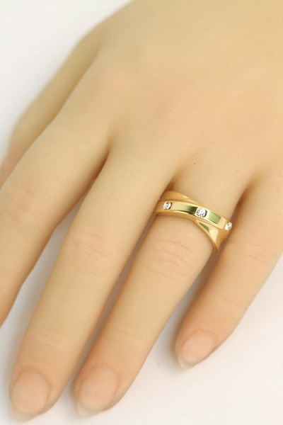 Korean Cross Band Ring