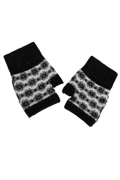 Flower Power Fingerless Gloves - More Colors