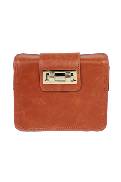 Street Level Retro Square Cross Body Bag