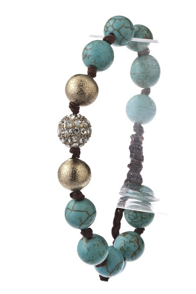 Tibetan Pave Center Shamballa Bracelet - More Colors