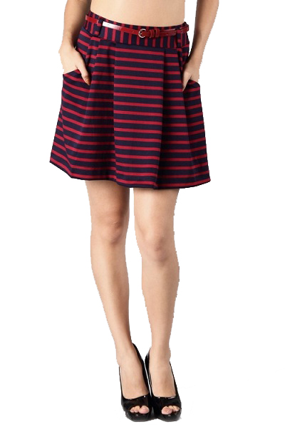 Prep Princess Stripe Skirt