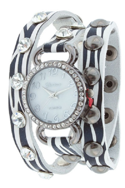 Geneva Wrap Around Watch - Wild Design
