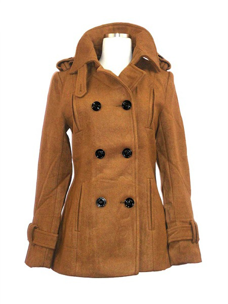 Miss Posh Wool Peacoat - More Colors