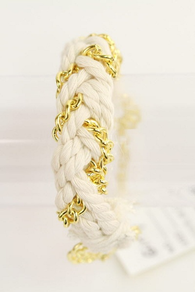 Marina Thick Rope Bracelet - More Colors
