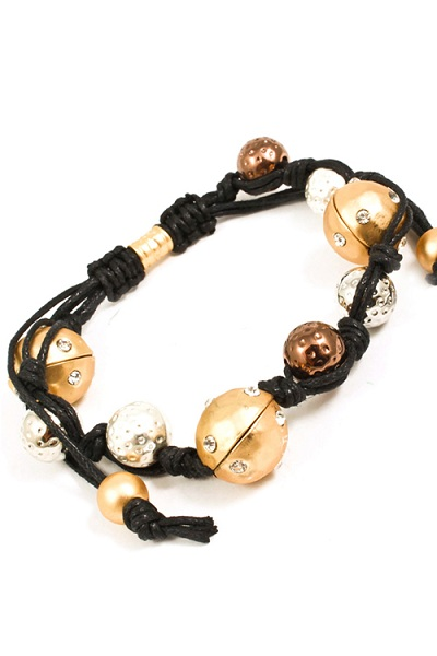 Trikaya 3 Bodies Shamballa Bracelet - Multi - More Colors