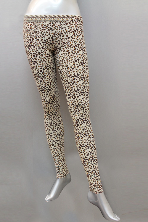 Leopard Ankle Length Leggings