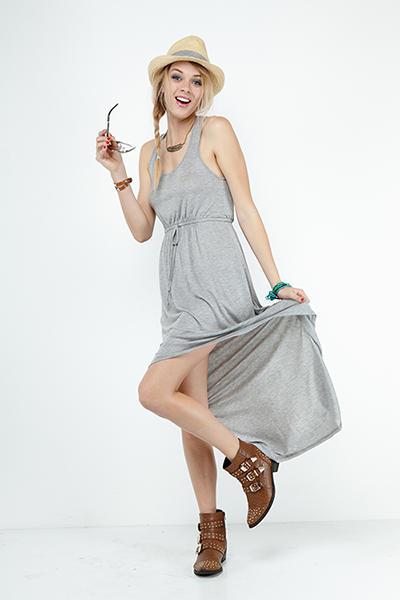Jodie Hi Lo Jersey Dress