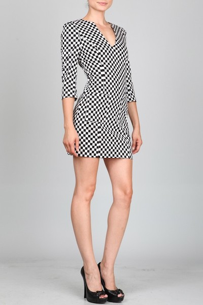 Ark & Co. Checkmate Dress