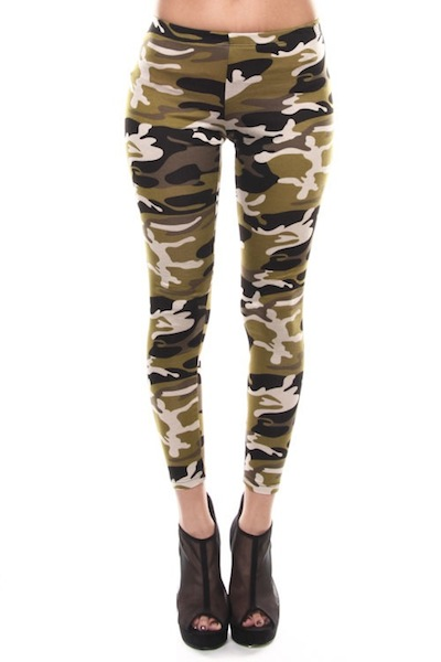 GI Jane Camo Leggings