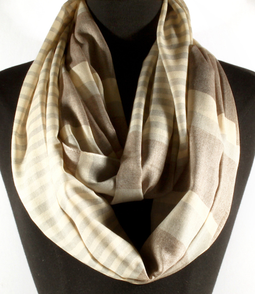 Landon Stripe Infinity Scarf - More Colors