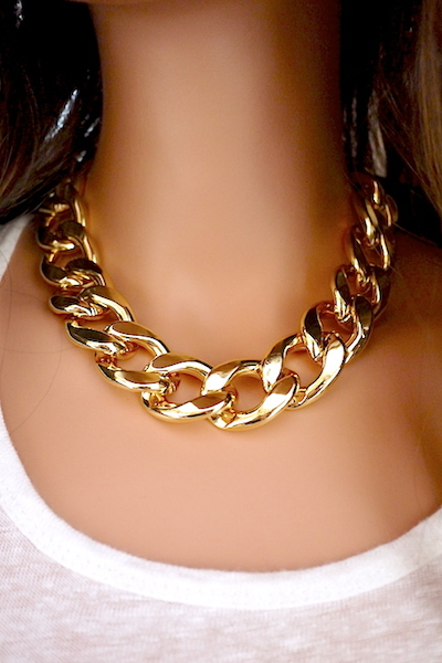 Chunky Chain Necklace - More Colors