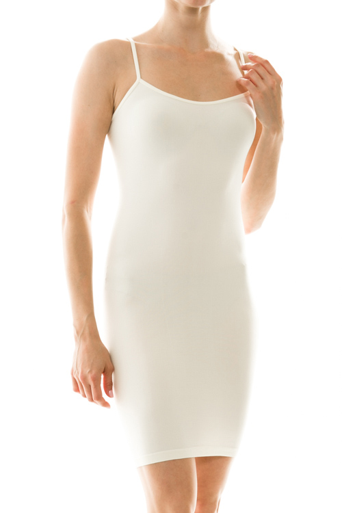 Solid Bodycon Slip Dress - More Colors
