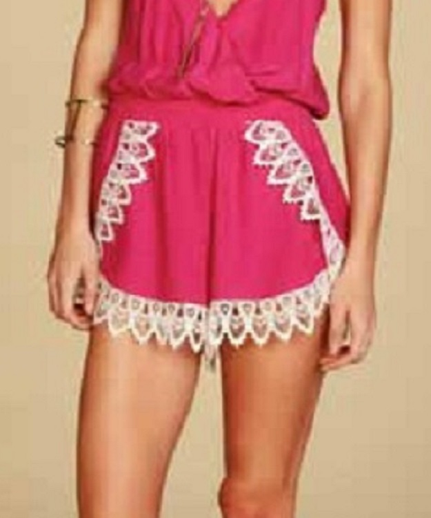 Lucy Love Lacey Romper - Solid Colors